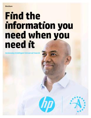 HP Intelligent Universal Search
