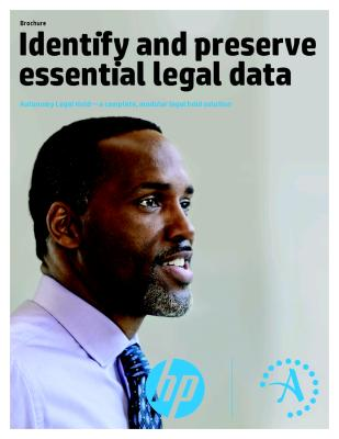 Identify and preserve essential legal data