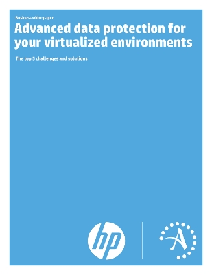 Advanced data protection for your virtualized environments