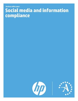 Social media and information compliance - HP Autonomy White Paper