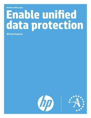HP Data Protector - Enable unified data protection