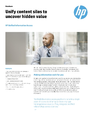 HP's Unified Information Access