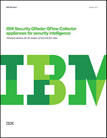 IBM Security QRadar QFlow Collector appliances for Security Intelligence