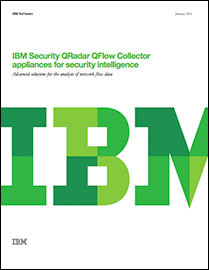 IBM Security QRadar QFlow Collectors for security intelligence