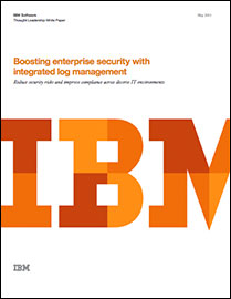 Boosting enterprise security with integrated log management